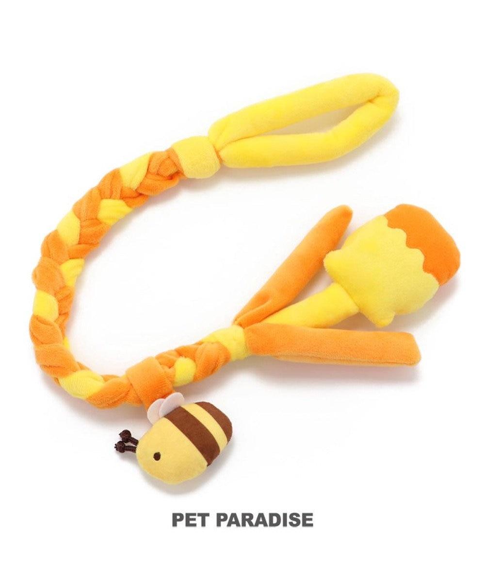 PET PARADISE 犬 トイ TOY ペットパラダイス 編み ロープ おもちゃ 蜂/恐竜 蜂