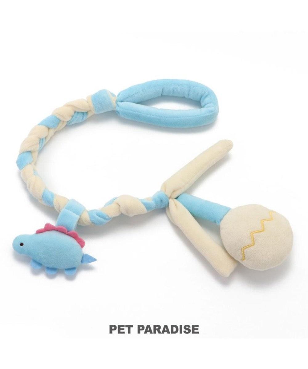 PET PARADISE 犬 トイ TOY ペットパラダイス 編み ロープ おもちゃ 蜂/恐竜 恐竜