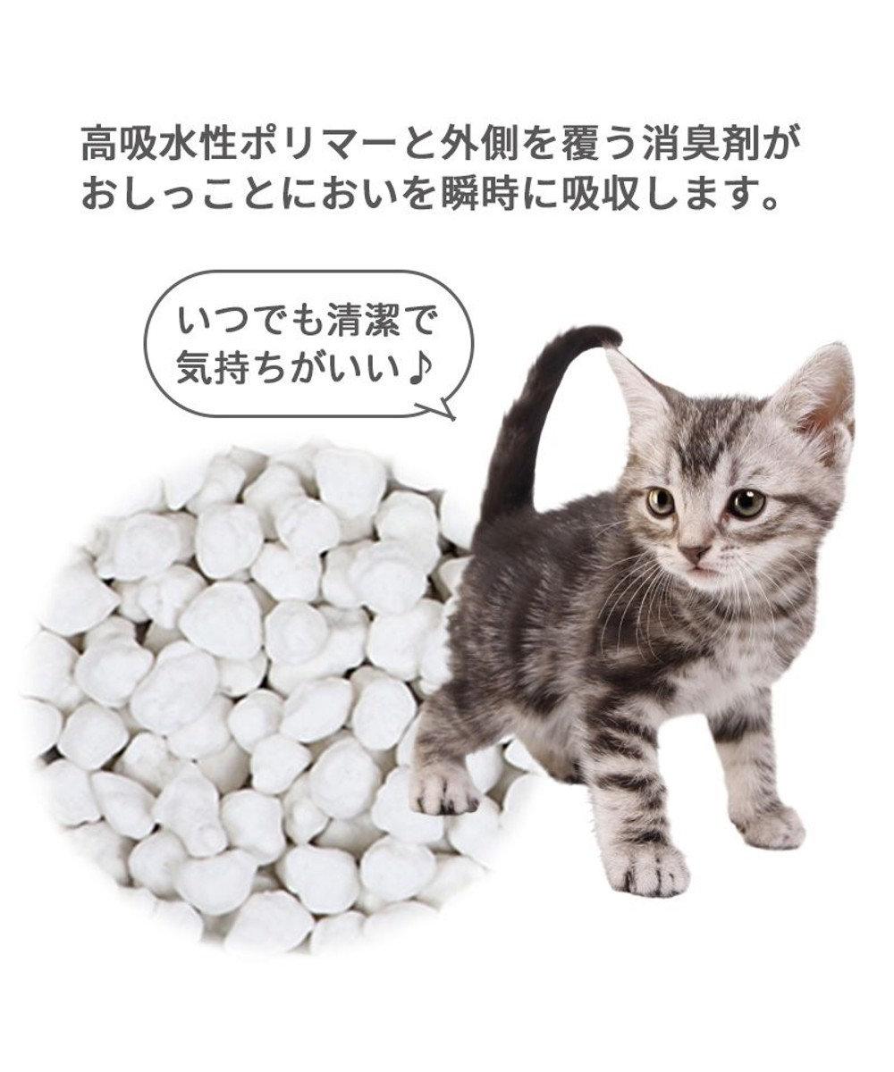 PET PARADISE 猫砂 紙 固まる トイレに流せる 飛び散りにくい ピュアサンド 7L×6袋セット 猫すな ねこ砂 ねこすな ねこちゃん用 -
