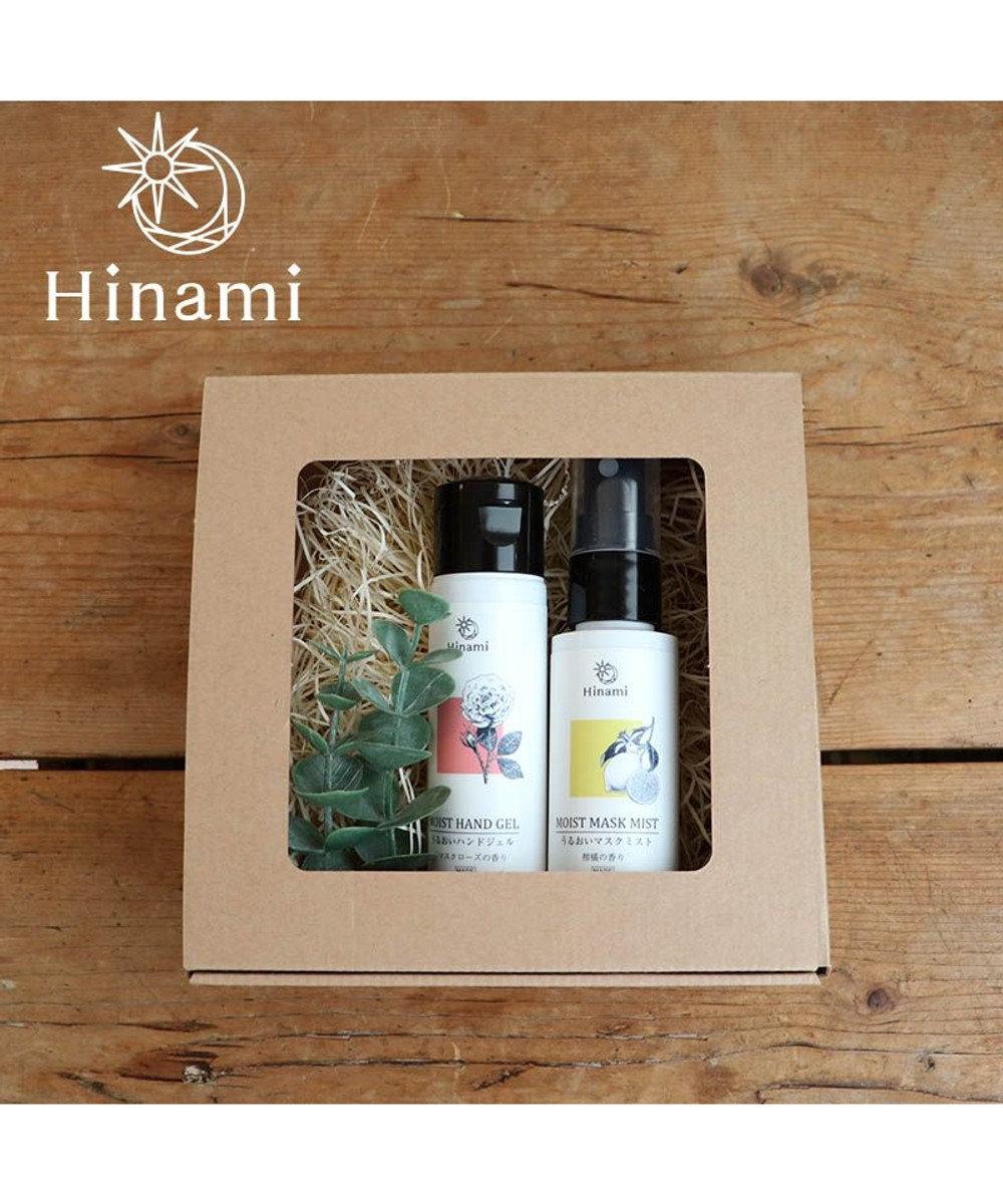 Mother garden 【Hinami】うるおいハンドジェル & マスクミスト 父の日 母の日 プチプレゼント ギフト  プレゼント 白~オフホワイト