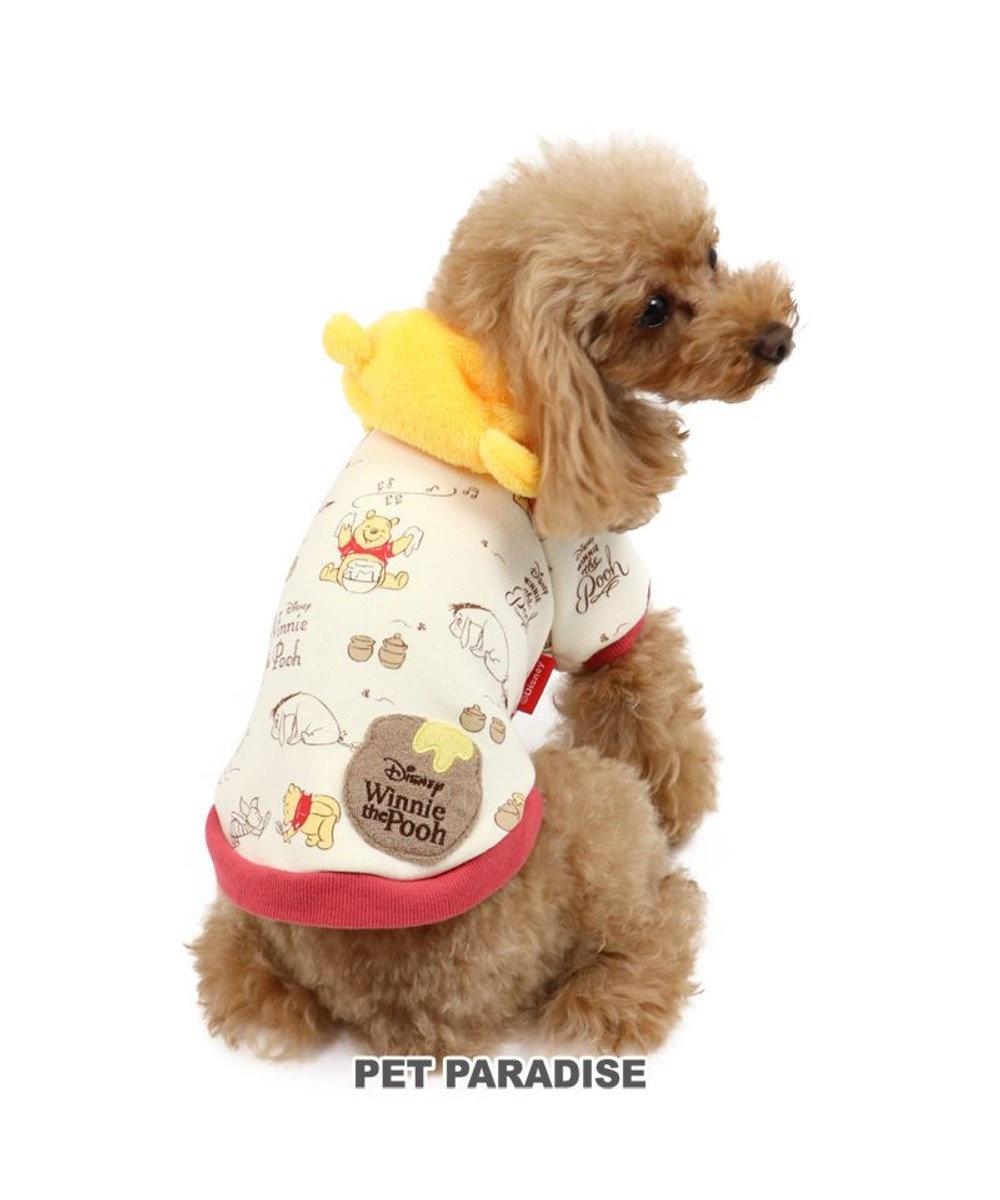 PET PARADISE 犬 服 ディズニー くまのプーさん パーカー 〔小型犬〕 ちび耳付き 犬服 犬の服 犬 服 ペットウエア ペットウェア ドッグウエア ドッグウェア ベビー 超小型犬 小型犬 黄