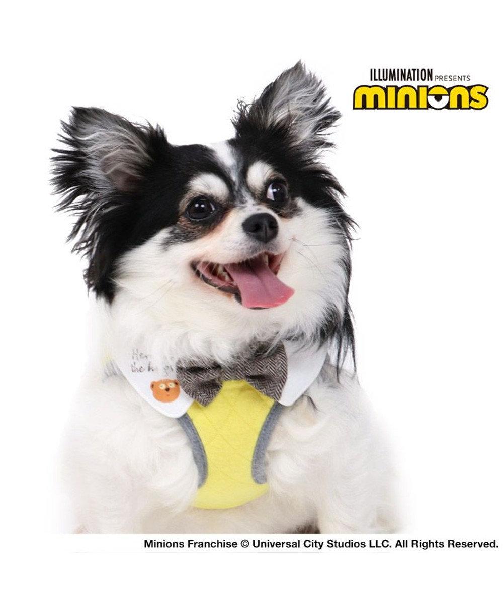 PET PARADISE 犬 ハーネス ミニオン ベストハーネス【S】 キルティング 小型犬 おさんぽ おでかけ お出掛け おしゃれ オシャレ かわいい 黄