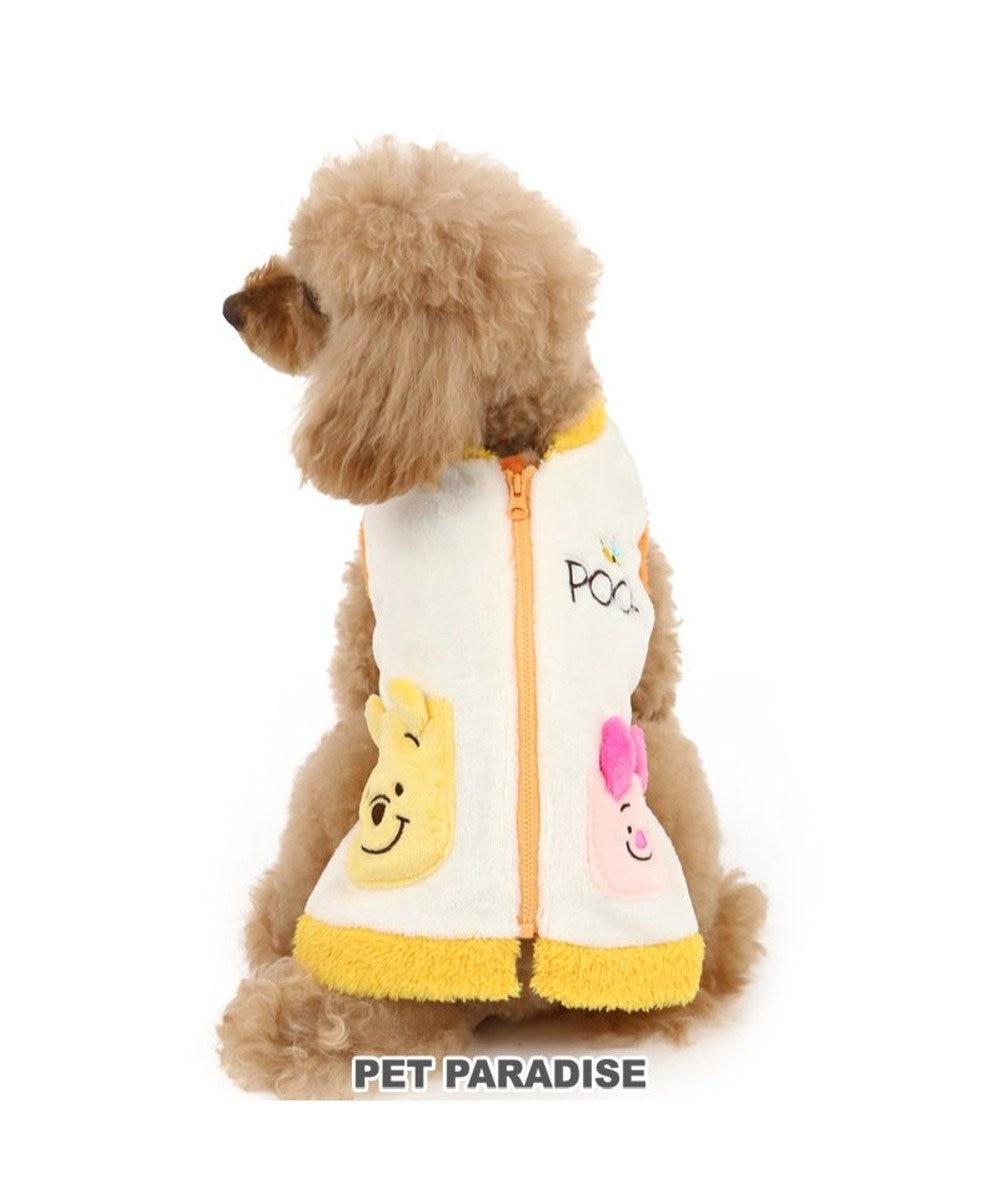 PET PARADISE 犬 服 秋服 ディズニー くまのプーさん ベスト 〔小型犬〕 プーさん&ピグレット 背開き ペットウエア ペットウェア ドッグウエア ドッグウェア ベビー 超小型犬 小型犬 黄