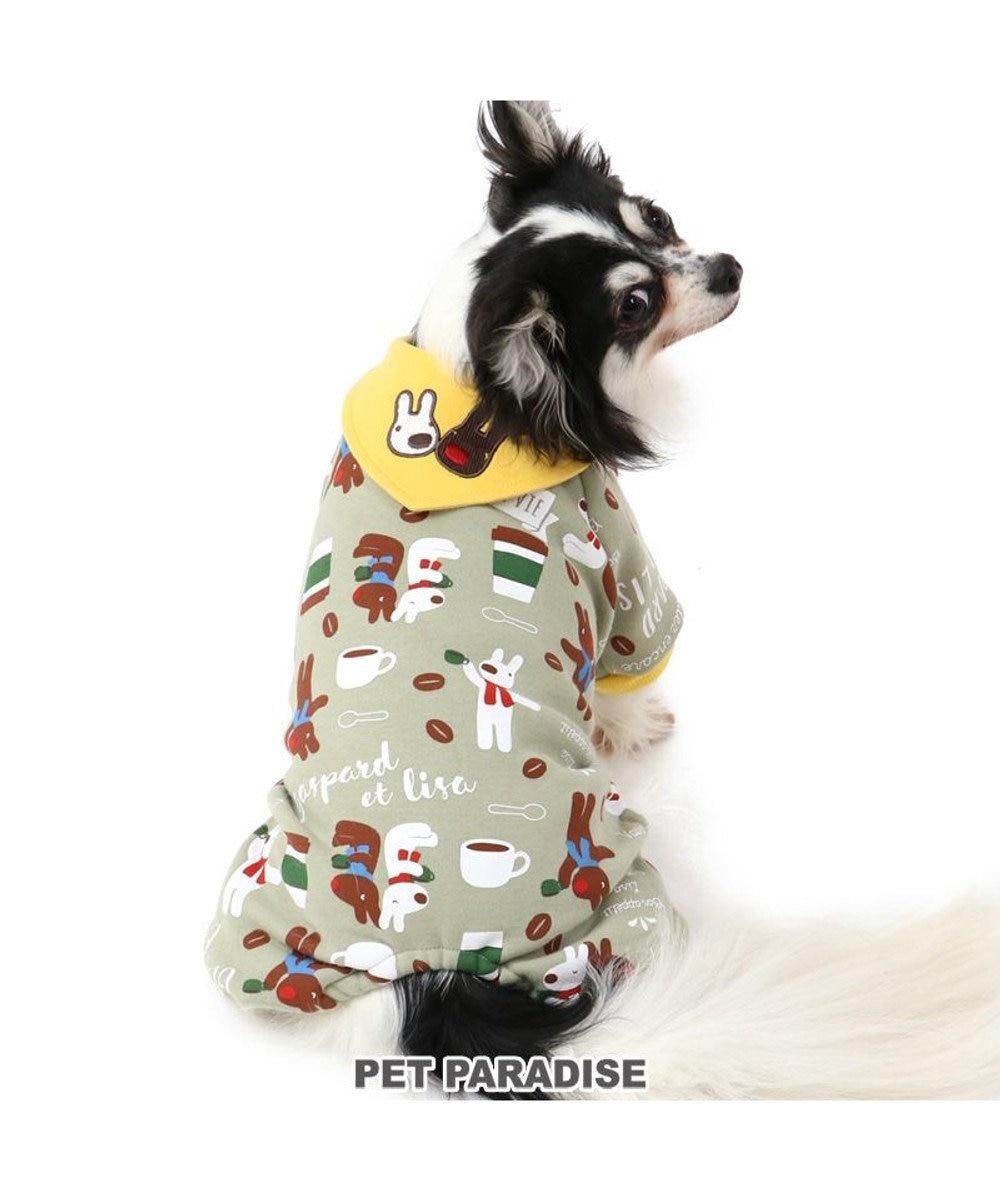 PET PARADISE 犬 服 秋服 リサとガスパール ロンパース 〔小型犬〕 ティータイム 犬服 犬の服 犬 服 ペットウエア ペットウェア ドッグウエア ドッグウェア ベビー 超小型犬 小型犬 マルチカラー