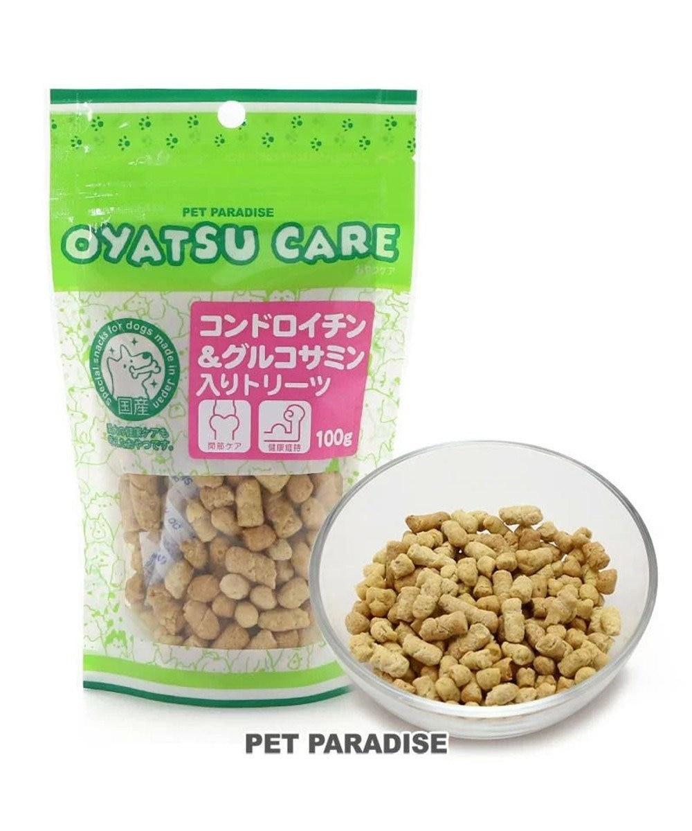 PET PARADISE 犬 おやつ 国産 フード ペットパラダイス 犬 おやつ 国産 コンドロイチン&グルコサミン入りトリーツ さつまいも入り 100g | オヤツ 関節ケア 健康維持 さつまいも サツマイモ しつけ -