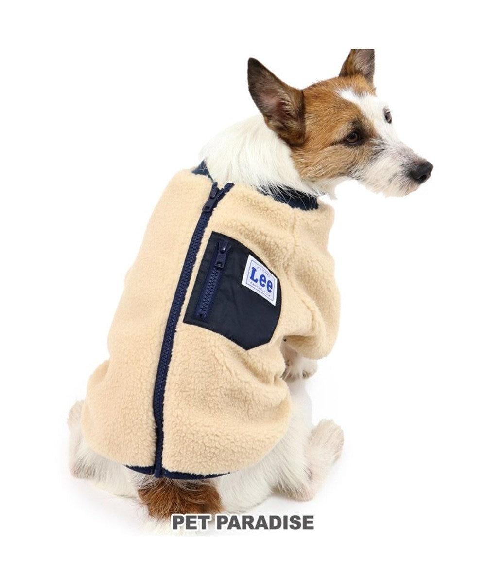PET PARADISE 犬 服 秋服 Lee ブルゾン 〔小型犬〕 シープボア ペットウエア ペットウェア ドッグウエア ドッグウェア ベビー 超小型犬 小型犬 ベージュ