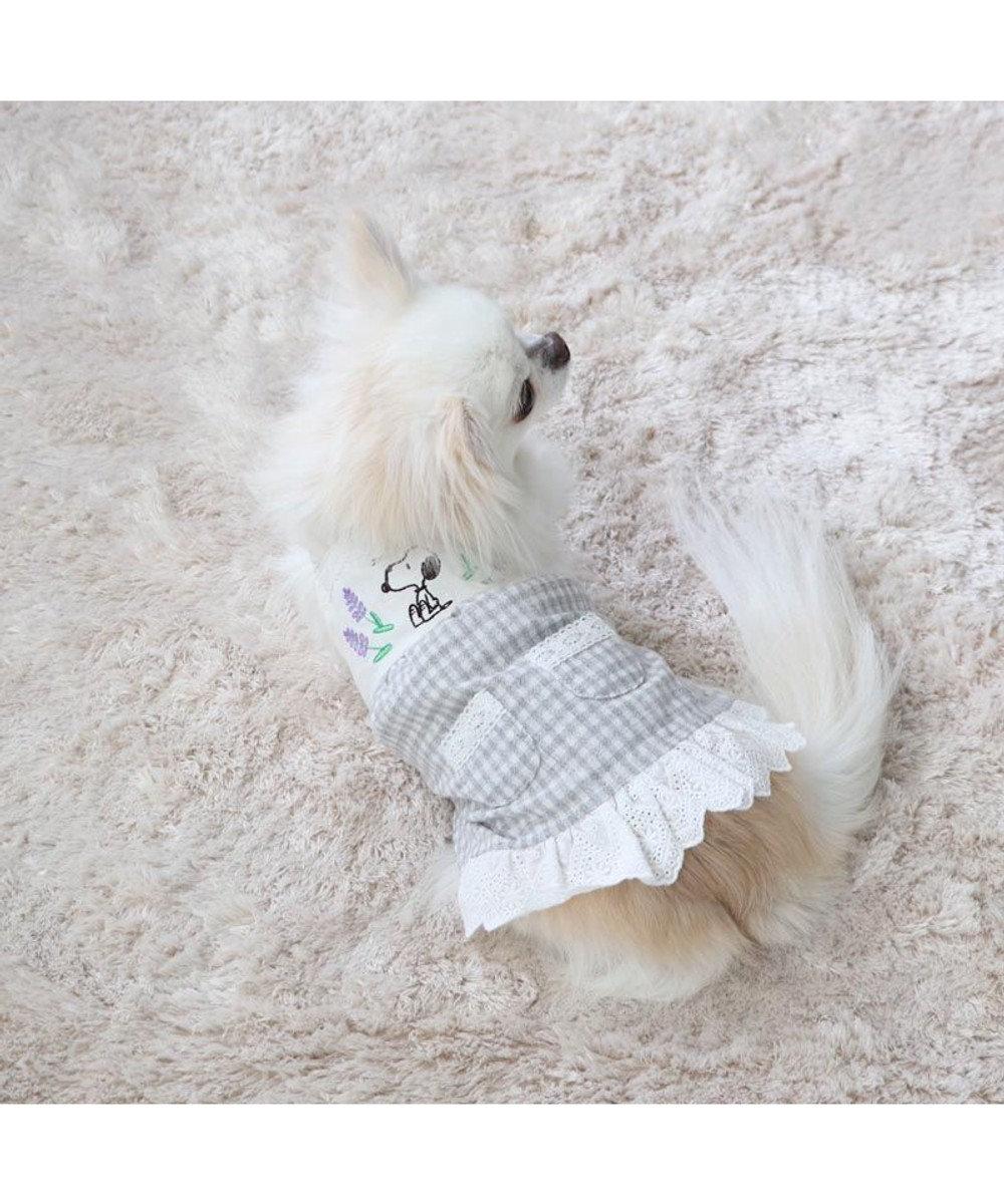 PET PARADISE 犬服 犬 服 ペットパラダイス スヌーピー リネン レース ワンピース 〔小型犬〕 超小型犬 小型犬 -