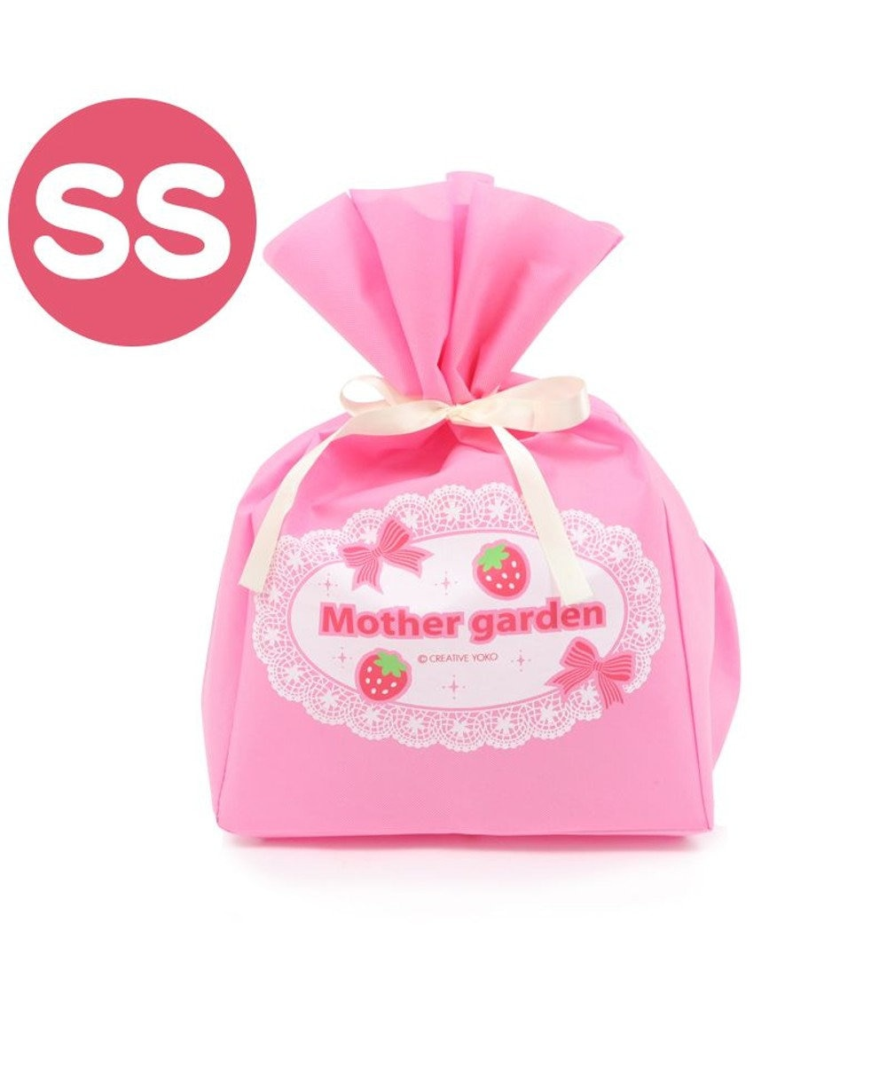 Mother garden ギフトラッピング用バッグ(同梱します) 【SSサイズ】 不織布 レース柄 ※ラッピング対応は致しておりません。サイズ変更してリニューアル 長さカット可能《カフェリボン・プレミアムシリーズ》プレゼント お祝い お返し ピンク