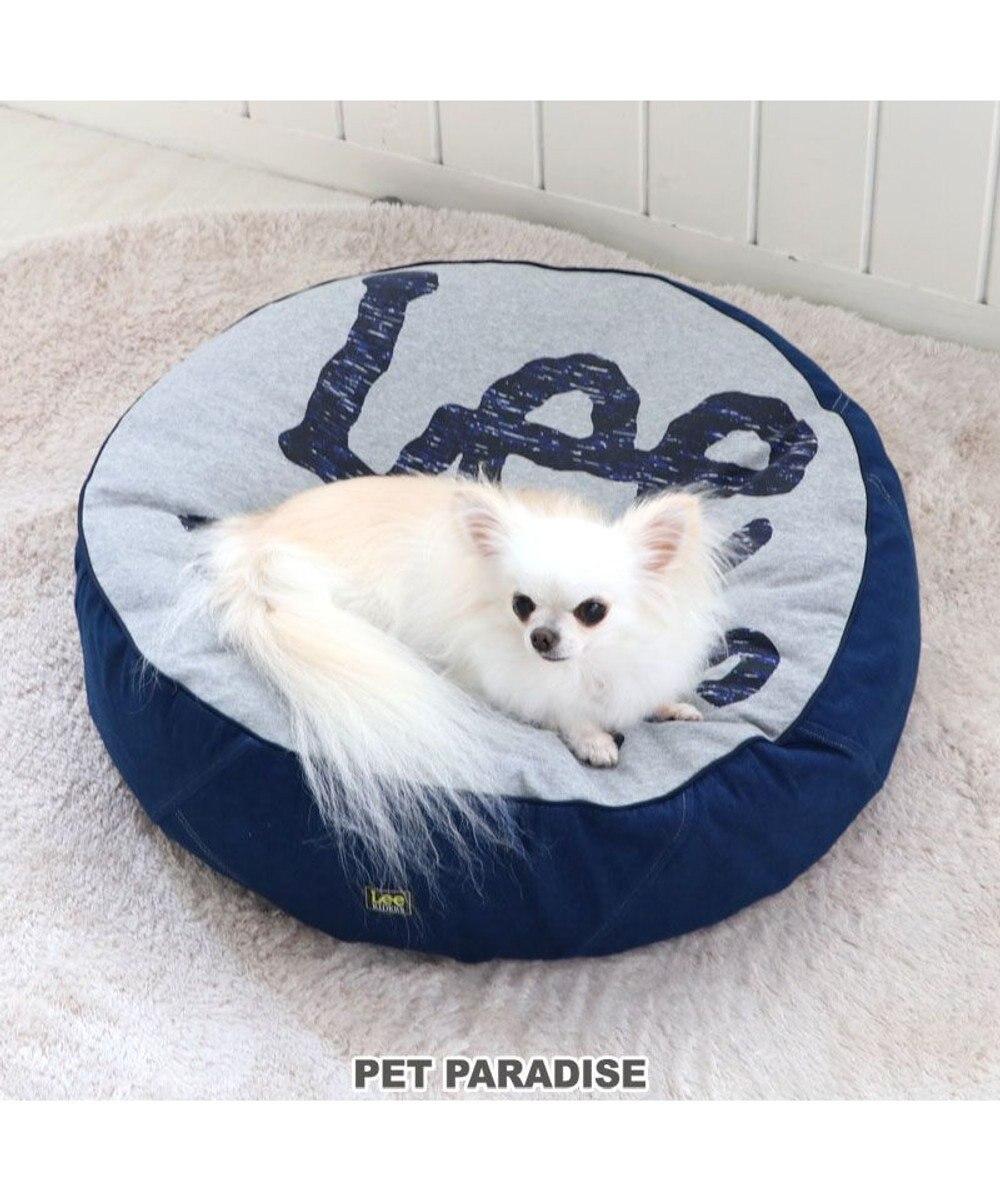 PET PARADISE 犬 カドラー クッション Lee ライダース クッション (60cm) 猫 小型犬 介護 ふわふわ 通年 春 夏 秋 冬 クッション ソファ カドラー おしゃれ 室内 グレー