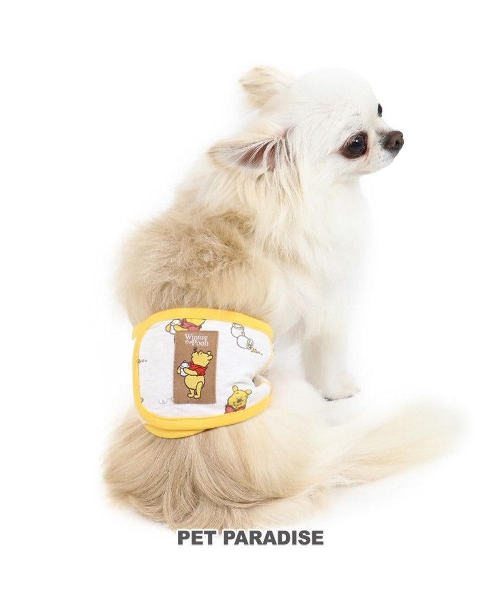 PET PARADISE 犬 服 ディズニー くまのプーさん マナーベルト 〔小型犬〕 ハニータイム  おむつ オムツカバー 抗菌 防臭 黄