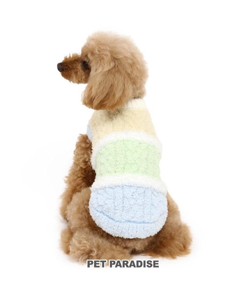 PET PARADISE 犬 服 秋服 セーター 〔小型犬〕 もこふわ 水色 犬服 犬の服 犬 服 ペットウエア ペットウェア ドッグウエア ドッグウェア 水色