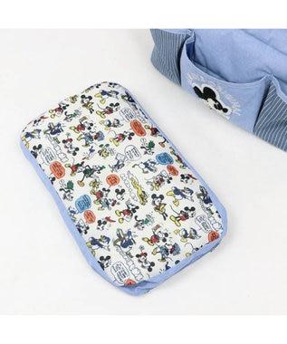 PET PARADISE 犬 キャリーバッグ ペットパラダイス ディズニー ミッキーマウス クッション キャリーバッグ 〔超小型犬〕 水色