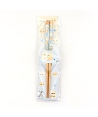 Mother garden しろたん 木製箸≪しろたん&らっこいぬ柄≫16.5cm/20cm 0