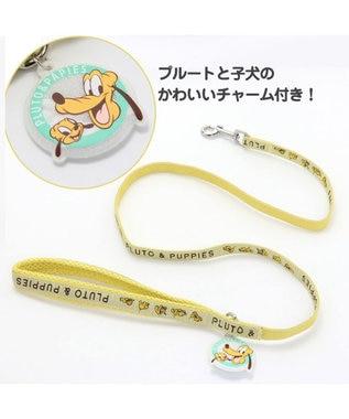 PET PARADISE ディズニー プルート&パピー リード ペットSS~S〔小型犬〕 黄