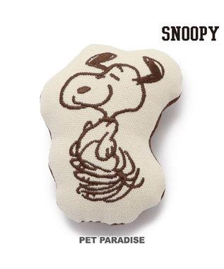PET PARADISE 犬 トイ TOY ペットパラダイス スヌーピー ハピーダンス おもちゃ ベージュ