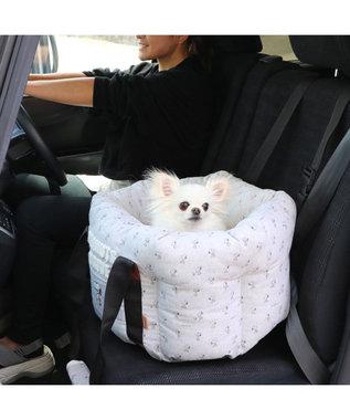 PET PARADISE 犬 猫 ペット ベッド  スヌーピー ドライブ キャリーバッグ  【小型犬】 犬 ドライブ ボックス ドライブシート ドライブベット ドライブベッド お出掛け 移動 車 おしゃれ かわいい 春 夏 秋 冬 グレー