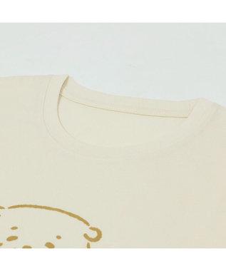 Mother garden しろたん Tシャツ 半袖  《HITOMISHIRI柄》 オフホワイト色 S/M/L/XL レディース メンズ ユニセックス 男女兼用  コットン あざらし かわいい 半袖Tシャツ マザーガーデン ネットショップ限定商品 白~オフホワイト