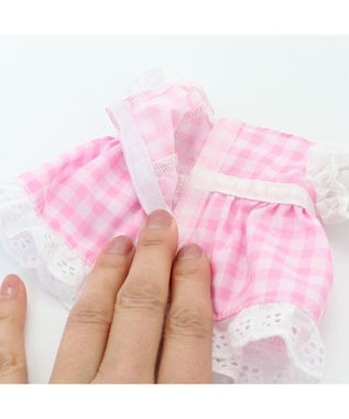 Mother garden マザーガーデン プチマスコット Sサイズ 限定ドール 《リリー・シュガー》  着せ替えごっこ きせかえ お人形 知育玩具 女の子 | おもちゃ 子供 キッズ 着せ替え ぬいぐるみ ピンク