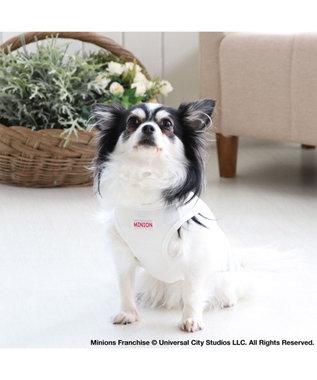 PET PARADISE 犬服 犬 服 ペットパラダイス ミニオン クール 接触冷感 虫よけ あひる柄 タンクトップ 〔小型犬〕 超小型犬 小型犬 天竺 ひんやり 夏 涼感 冷却 吸水速乾 クールマックス 水色