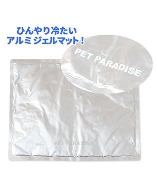 PET PARADISE 犬 春夏 クール 接触冷感 スヌーピー マット (44×35cm) サーフ柄 ジェルマット 白~オフホワイト