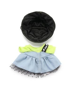 Mother garden マザーガーデン うさももドール プチマスコット Sサイズ 用 着せ替えお洋服  《ワンショルダージャンスカ》  着せ替えごっこ お洋服 女の子のおもちゃ 着せ替え服 ぬいぐるみ ぬいどり ぬい撮り 水色