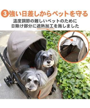 PET PARADISE 犬用品 ペットグッズ キャリーバッグ ペットパラダイス 犬 カート バギー おしゃれ ハンドフル ペットカート   送料無料 1年保証 猫 ペットバギー 多頭用 介護 軽量 コンパクト収納 折り畳み 折りたたみ 1年保証 0