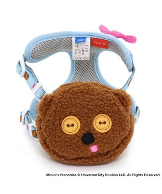 PET PARADISE ミニオン ティムリュック付 ハーネスペット3S 茶系