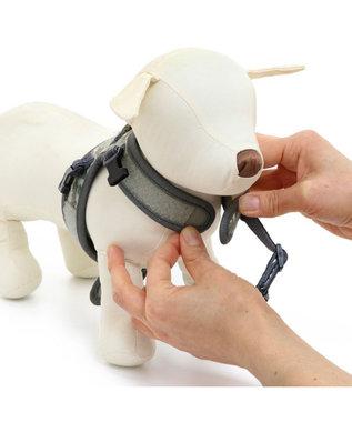 PET PARADISE 犬 ハーネス ペットパラダイス やさしい ハーネス 迷彩 SS~S 〔小型犬〕 カーキ
