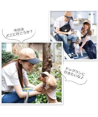 PET PARADISE 犬 服 春 ペットパラダイス スヌーピー お揃い帽子 〔小型犬〕 超小型犬 小型犬 カーキ