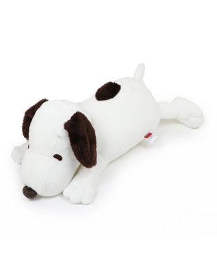PET PARADISE ペット ベッド スヌーピー 一緒にネンネ枕 (60cm) ネット限定 猫 小型犬 介護 ふわふわ 通年 夏 秋 冬 クッション ソファ カドラー おしゃれ 室内 ドーム キャラクター 白~オフホワイト