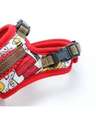PET PARADISE 犬 ハーネス ペットパラダイス スヌーピー やさしい ハーネス SS~S 〔小型犬〕 赤