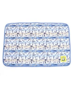 PET PARADISE 犬用品 ペットグッズ ベッド ベット ペットパラダイス 犬 マット クール 接触冷感 スヌーピー クールマット(90×60cm) 柔らか サマーホリデイ ひんやり マット 涼感 冷却 クールマット ペット ベット夏用 ペット ベッド 夏用 冷感 犬 夏 水色