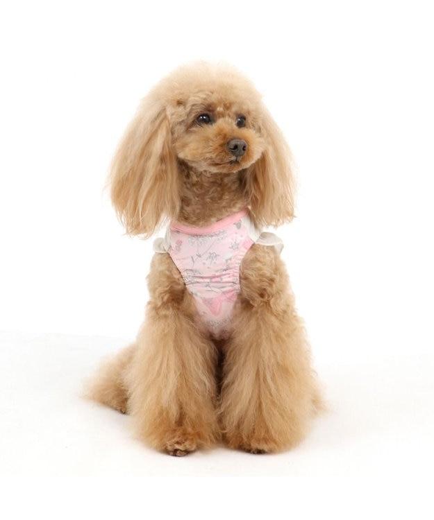 PET PARADISE 犬服 犬 服 ペットパラダイス ディズニー ミニーマウス クール 接触冷感 虫よけ 花柄 ワンピース 〔小型犬〕 超小型犬 小型犬 天竺 ひんやり 夏 涼感 冷却 吸水速乾 クールマックス