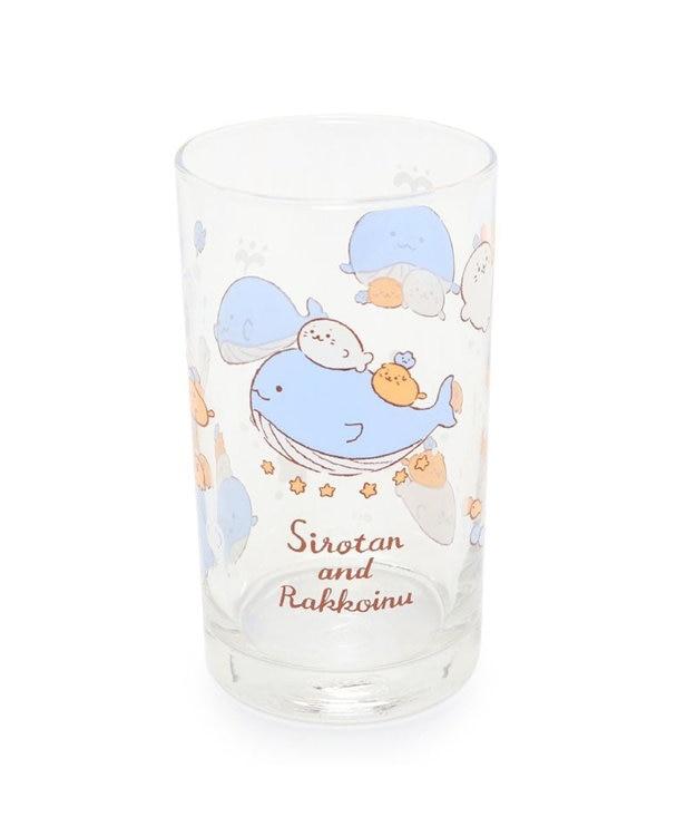 Mother garden しろたん 《星くじら柄》 グラス6個セット グラスセット ガラスコップ キッチン用品 ギフト プレゼント あざらし アザラシ かわいい キャラクター