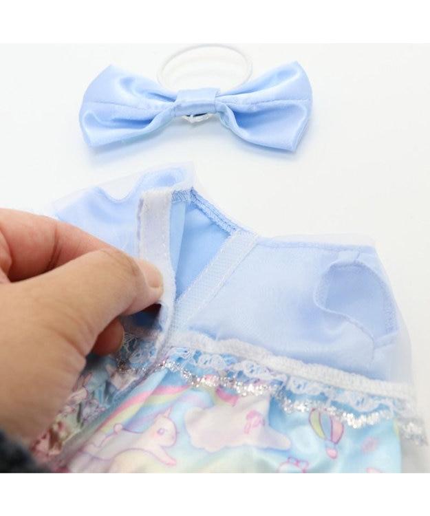 Mother garden マザーガーデン うさももドール プチマスコット Sサイズ 用 着せ替えお洋服  《空のうさぎドレス》 着せ替えごっこ お洋服 女の子のおもちゃ 着せ替え服 ぬいぐるみ ぬいどり ぬい撮り