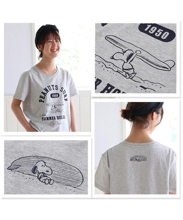 PET PARADISE スヌーピー 限定Tシャツ 愛犬とお揃い サーフ柄 ユニセックスサイズ