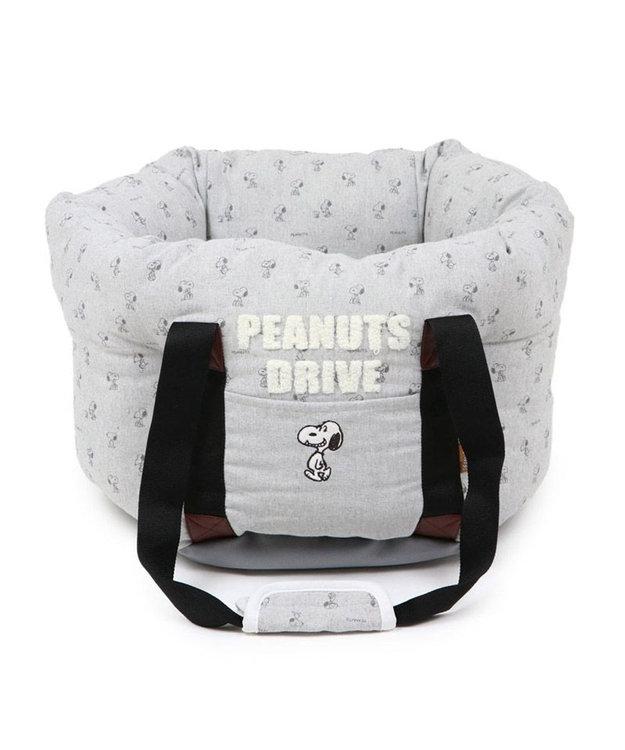 PET PARADISE 犬 猫 ペット ベッド  スヌーピー ドライブ キャリーバッグ  【小型犬】 犬 ドライブ ボックス ドライブシート ドライブベット ドライブベッド お出掛け 移動 車 おしゃれ かわいい 春 夏 秋 冬