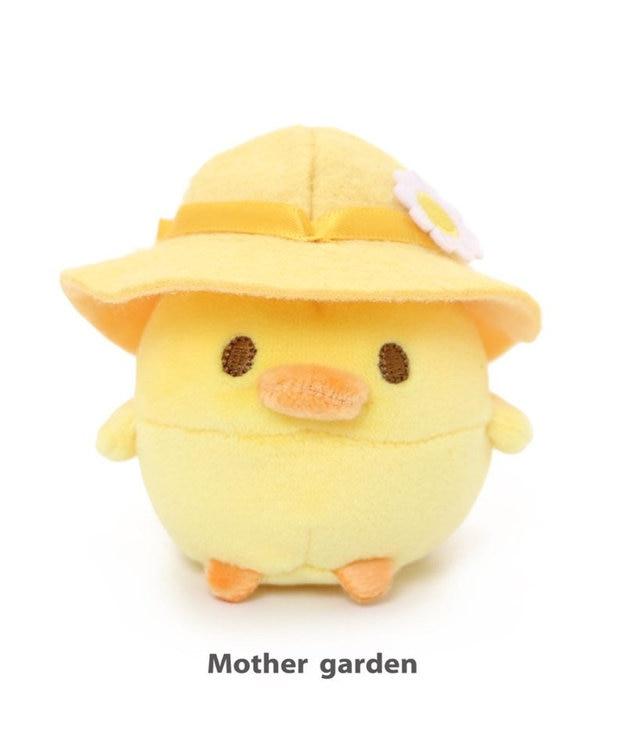 Mother garden マザーガーデン こぴよフレンズ こぴよ 麦わら マスコット ちび マスコット ぬいどり ぬい撮り かわいい 小さい ぬいぐるみ 手のひらサイズ 鳥雑貨 おもちゃ 子供 子ども キッズ プレゼント 誕生日プレゼント