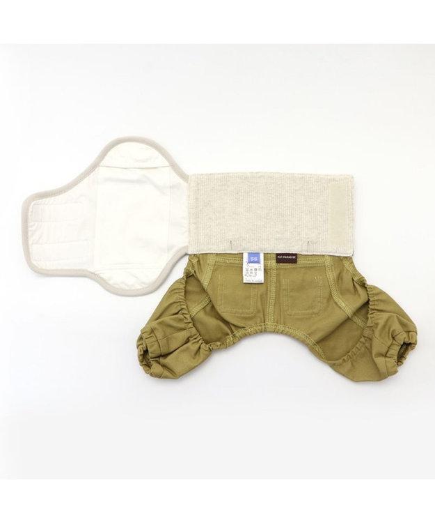 PET PARADISE 犬 服 マナーパンツ【小型犬】 チェック おむつ オムツカバー 抗菌 防臭