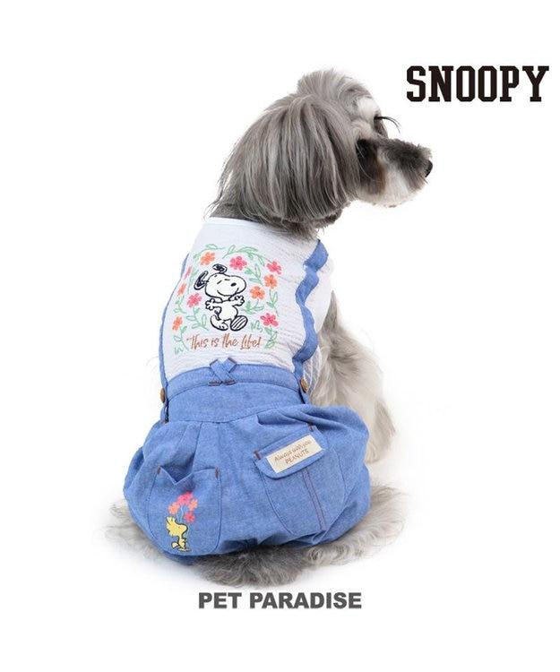 PET PARADISE 犬服 犬 服 ペットパラダイス スヌーピー フラワーパンツつなぎ 〔小型犬〕 超小型犬 小型犬