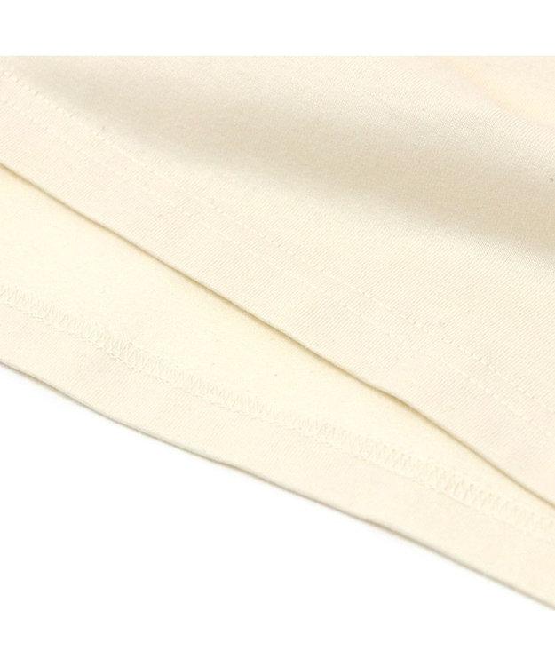 Mother garden しろたん Tシャツ 半袖  《ここはヒザ?!柄》 オフホワイト色 S/M/L/XL レディース メンズ ユニセックス 男女兼用  コットン 綿  あざらし アザラシ かわいい キャラクター 半袖Tシャツ マザーガーデン