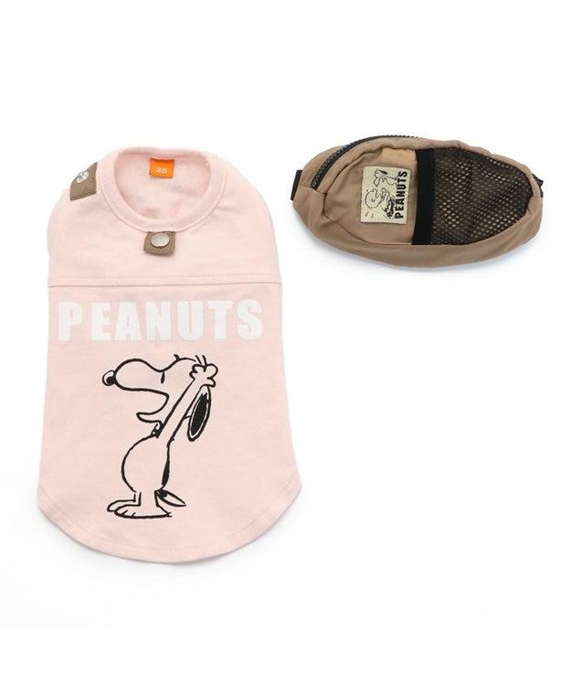 PET PARADISE 犬服 犬用品 ペットグッズ ペットウェア ペットパラダイス 犬 服 スヌーピー お揃い Tシャツ ピンク 【小型犬】 ハッピー | おそろいドッグウエア ドッグウェア イヌ おしゃれ かわいい
