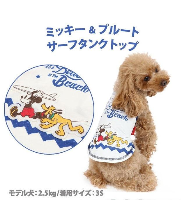 PET PARADISE 犬服 犬 服 ペットパラダイス ディズニー ミッキーマウス クール 接触冷感 サーフ タンクトップ 〔小型犬〕 超小型犬 小型犬 ひんやり 夏 涼感 冷却 吸水速乾 タッチワンクール