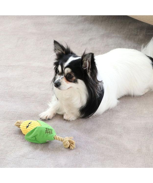 PET PARADISE 犬用品 ペットグッズ 犬 おもちゃ ペットパラダイス 犬 トイ TOY 焼きもろこし おもちゃ | 音が鳴る ぬいぐるみ ボール ロープ オモチャ 玩具 トイ TOY 小型犬 猫 かわいい おもしろ インスタ映え