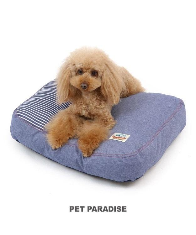 PET PARADISE ペットパラダイス デニム クッション (55×45cm)