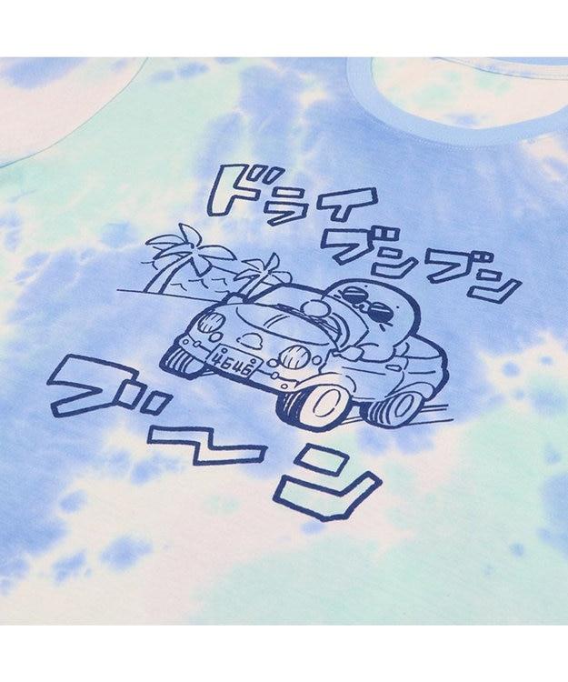Mother garden しろたん Tシャツ 半袖 《ドライブンブンブーン柄》 S/M/L/XL レディース メンズ ユニセックス 男女兼用 半袖 あざらし アザラシ かわいい キャラクター マザーガーデン