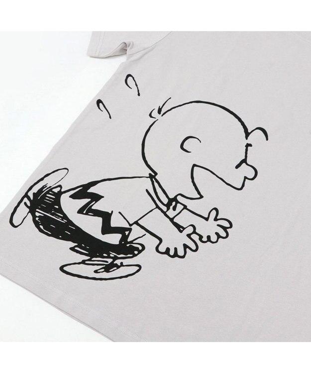 PET PARADISE おそろい ユニセックス ペットパラダイス 犬 服 スヌーピー お揃い Tシャツ オーナー用 ハッピー | おそろい 灰 グレー キャラクター
