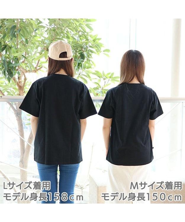 Mother garden しろたん Tシャツ 半袖  《散!磁力柄》 黒色 S/M/L/XL レディース メンズ ユニセックス 男女兼用  コットン 綿  あざらし アザラシ かわいい キャラクター 半袖Tシャツ マザーガーデン ネットショップ限定商品