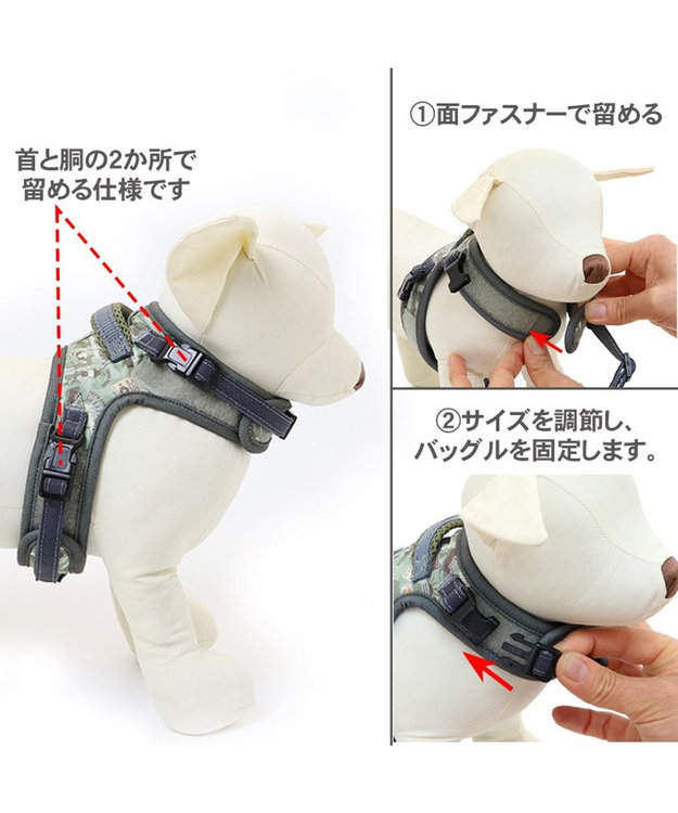 PET PARADISE 犬 ハーネス ペットパラダイス スヌーピー やさしい ハーネス 3S 〔小型犬〕