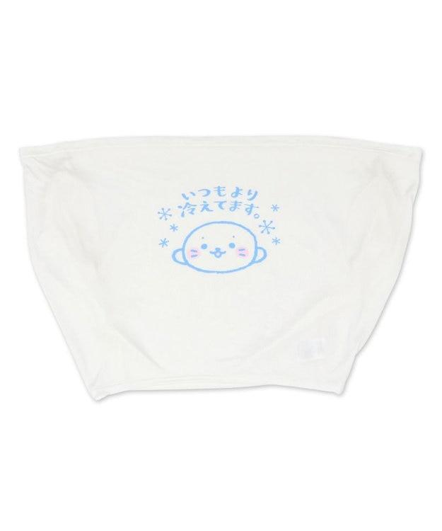 Mother garden しろたん 抱き枕 85cm 対応 冷やし しろたん クール Tシャツ  《いつもより冷えてます。》 クール ひんやり 抱きぐるみ ぬいぐるみ用 カバー 着せ替え 夏 寝具 快眠 接触冷感 クール生地 熱中症対策 あざらし キャラクター マザーガーデン